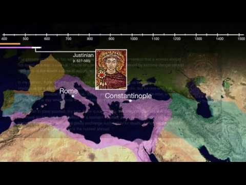 Justinian and the Byzantine Empire (video)   Khan Academy