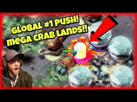 TRIBAL MEGA CRAB RISES! :: Global #1 Push :: Stages 1-38 :: Boom Beach (видео)
