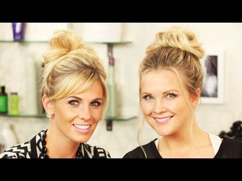 bun - Hi everyone!! Today, Carlie and I are showing you how we do our messy buns!! There are so many different ways to do a messy bun. If you are having a hard tim...