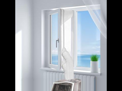 HOOMEE Fensterabdichtung für mobile Klimageräte Installations Video 2019 | Amazon Bestseller