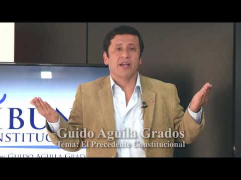 Programa 03: El Precedente Constitucional (I) - Tribuna Constitucional