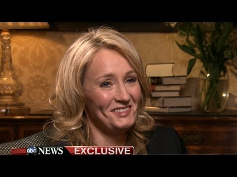 J.K. Rowling Interview on 'The Casual Vacancy': 'Harry Potter' Author on Rihanna's Influence