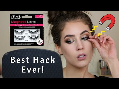 How To: Apply Magnetic Lashes | Best Hack Ever!