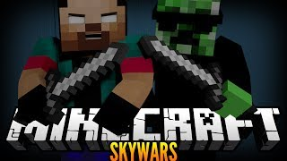 """RANDOM CREEPER SPAWNS!"" Minecraft SKY WARS w/NoahCraftFTW #99"