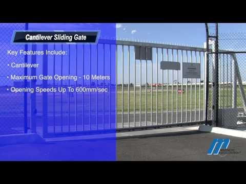 MCG Cantilever Gate