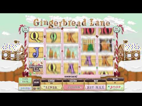 Video Slot Game - Gingerbread Lane Game Trailer