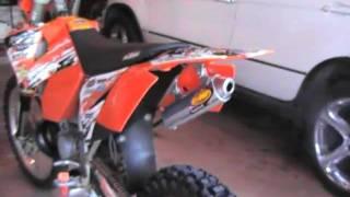 7. 2004 KTM 250 exc