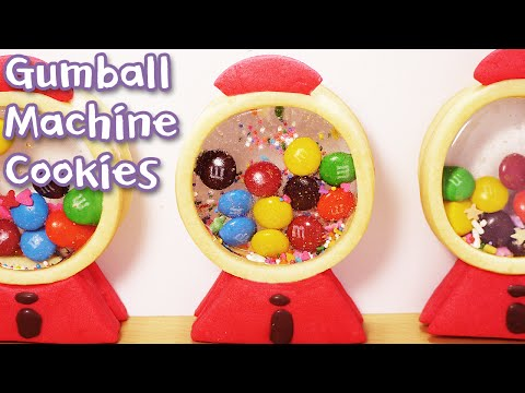 Gumball Machine Cookies - Sweet The MI