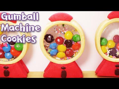 Gumball Machine Cookies - Sweet The MI