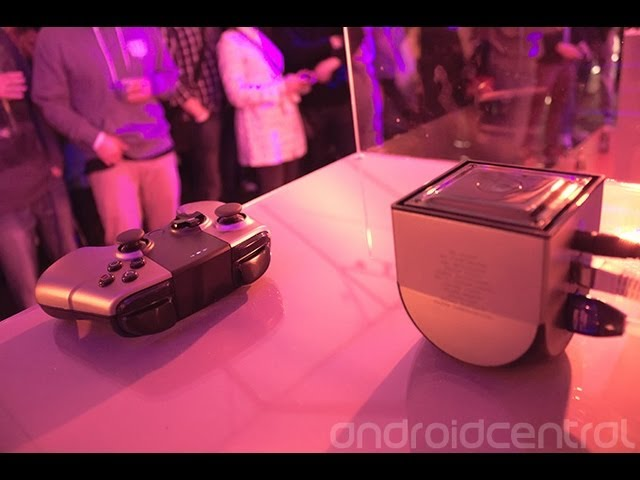 Ouya backer launch party at GDC 2013