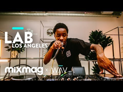 DJ TAYE (TEKLIFE / HYPERDUB) footwork in The Lab LA