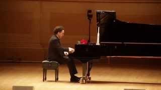 Evgeny Kissin and Hover Chamber Choir's performance in Carnegie Hall, NY