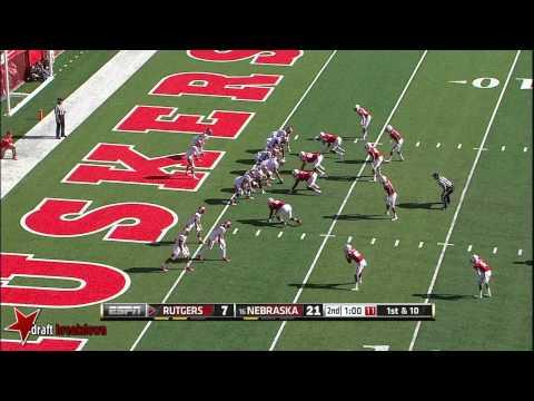 Randy Gregory vs Rutgers 2014 video.