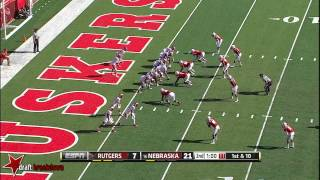 Randy Gregory vs Rutgers (2014)