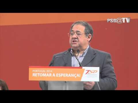 Octávio  Oliveira na Sessão de Abertura do XIII Congresso Nacional dos TSD