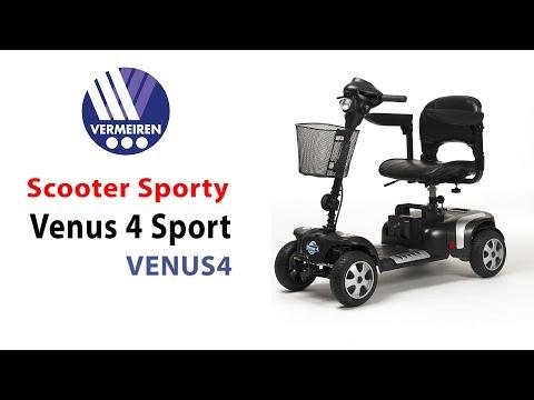 Scooter Venus 4 Sport – Estable y Sólido