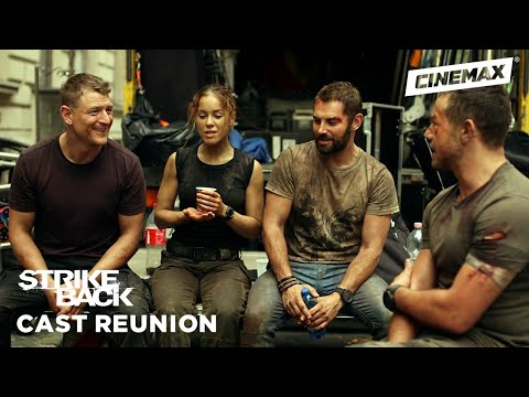 Cast Reunion with Philip Winchester & Sullivan Stapleton | Strike Back | Cinemax