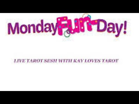 MONDAY FUNDAY LIVE TAROT SESH PLUS RANDOM FREEBIE LOVE MESSAGES