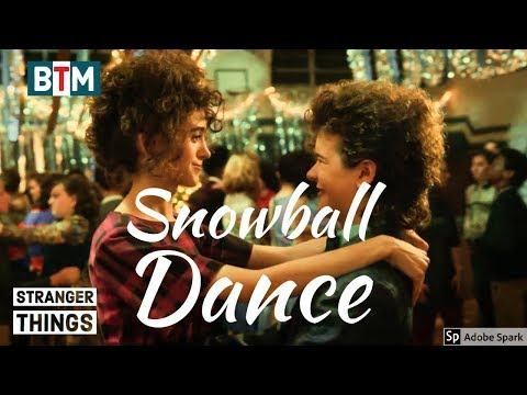 Stranger Things Season 2 Snowball Dance   Best Moments from Episode 9   Dustin and Nancy