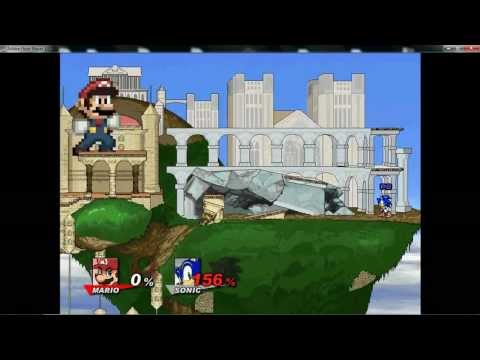 Super Smash Flash 2 v0.8a - Big and Small Glitch
