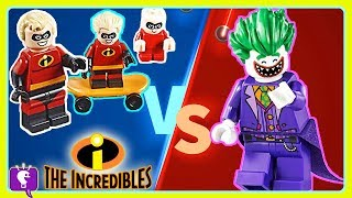Incredibles Vs. Lego JoEker Adventure with HobbyKidsTV!