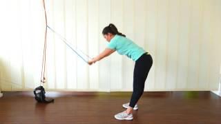 Rot, gelb oder grün, mit Schlaufen, Stangen oder ergonomischen Griffen – die Auswahl an elastischen Widerstandsmitteln ist...
