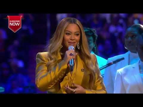 Kobe Bryant Memorial Service Highlights: Beyonce Live Performance