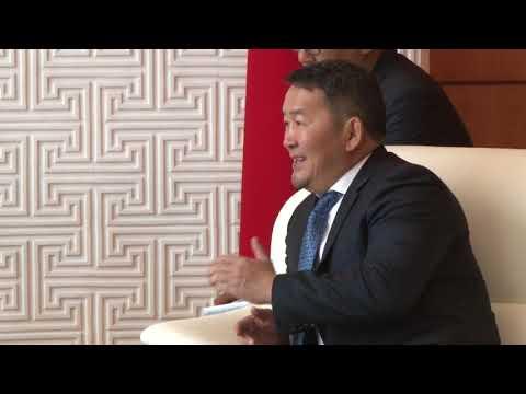 Ерөнхийлөгч Х.Баттулгад ОХУ-ын Гадаад хэргийн дэд сайд И.В.Моргулов бараалхав