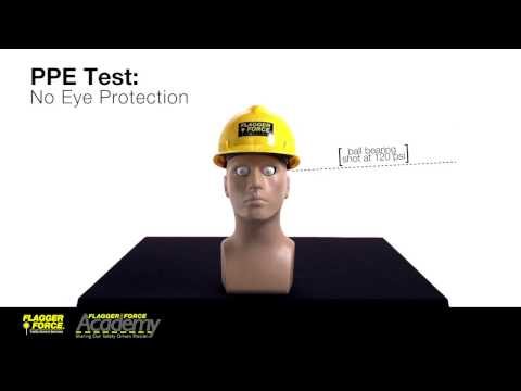 Eye Protection PPE Test