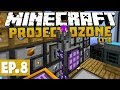 Project Ozone Lite - Wireless Crafting Terminal! #8 [Modded Questing Skyblock]
