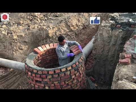 Brick Work Sewerage Manhole