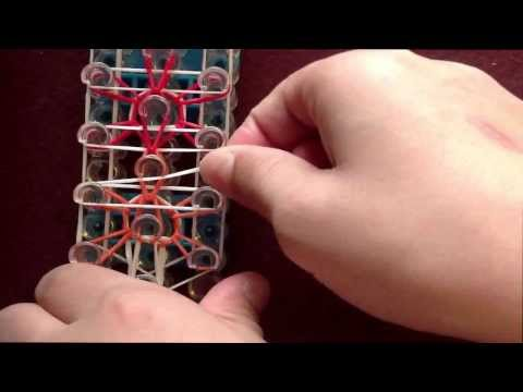 *NEW!* How to make a Stadder Rainbow Loom Bracelet! (Reversible Starburst and Ladder in 1)