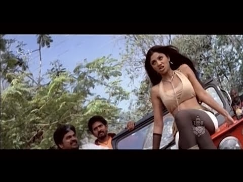 Shilpa Shetty Showing Rowdyism in front of Upendra | Best Scene of Auto Shankar Kannada Movie