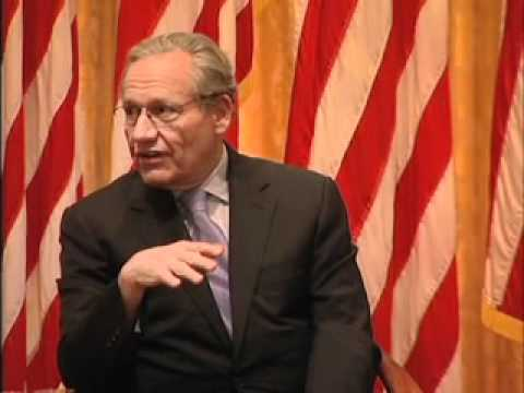 Bob Woodward and Ben Bradlee at the Nixon Library, part II