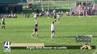 Argos Girls Soccer vs. LaVille Lancers