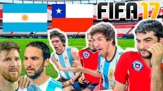 Video ARGENTINA vs CHILE | FIFA 17 | Homenaje MP3, 3GP, MP4, WEBM, AVI, FLV November 2017