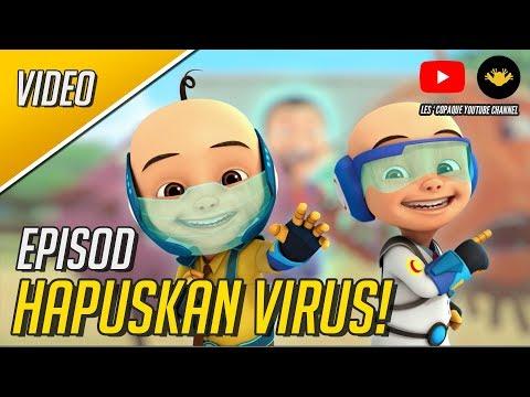Upin & Ipin Musim 11 - Hapuskan Virus! (Full Episode)