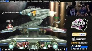 SSC EC 04 – CT ZeRo (Pit, Fox) vs ES Jreed (Wario) – Grand Finals