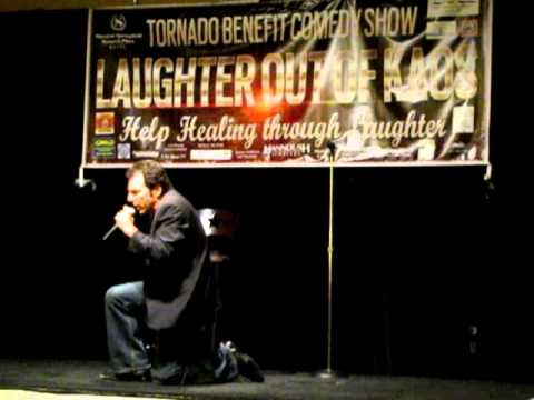 Steve Marshall, comedian, at Laughter Out of Kaos, 6/2/12