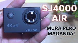 Video SJCAM SJ4000 Air Unboxing and Review MP3, 3GP, MP4, WEBM, AVI, FLV Maret 2019
