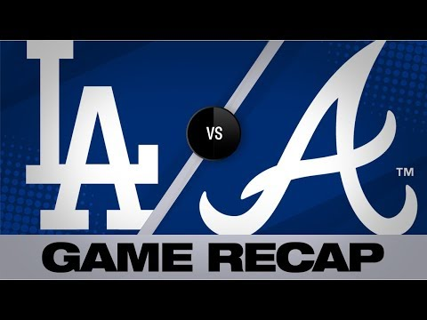 Video: Braves go yard in 6th to power past Dodgers - Dodgers-Braves Game Highlights 8/17/19