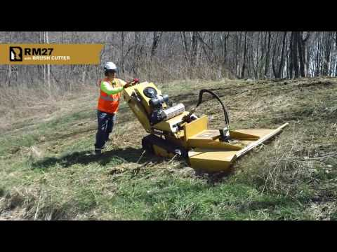 RM27 with Brush Cutter