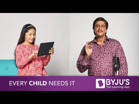 BYJU'S New & Personalized Learning App - Visual Learning (видео)