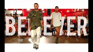YANIS MARSHALL & KEVIN VIVES HEELS CHOREOGRAPHY