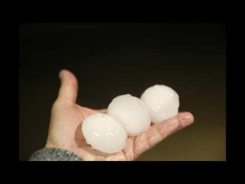 Quinter Kansas Supercell Devastating Hailstorm 18th May 2018_Időjárás. Vihar, jégeső, tornádó, áradás videók. Csodás felvételek szupercellákról, zivatarokról