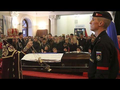 Κηδεύτηκε στην Κριμαία ο Ρώσος αξιωματικός που σκοτώθηκε στη Συρία