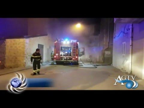 Favara, incendio in un'abitazione