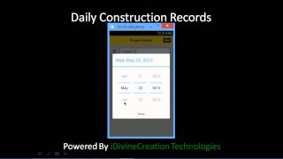 Daily Construction Records YouTube video