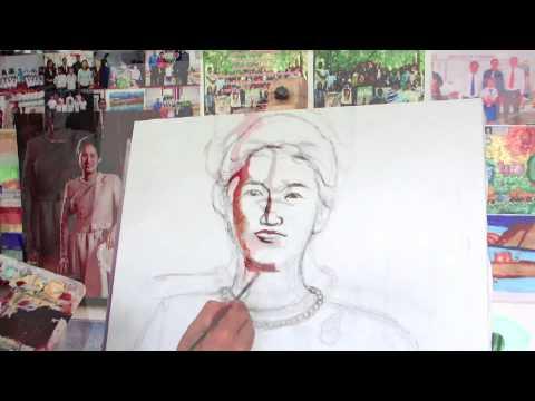 เทคนิคการวาดภาพคนเหมือนจริง