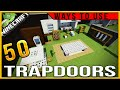 Download Video 50 creative ways to use trapdoors in Minecraft (PC/console/PE)|creative tips and tricks
